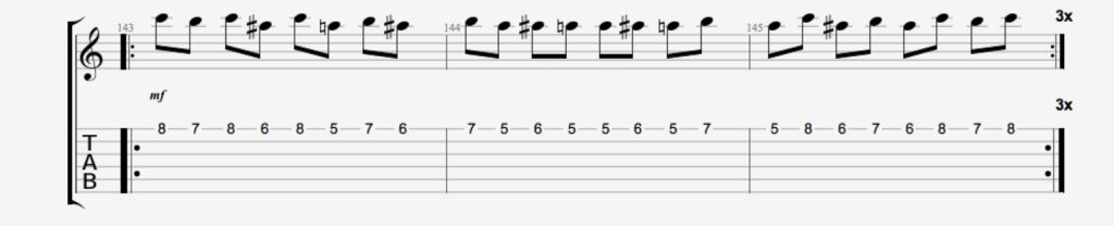 exercice guitare deliateurs 1