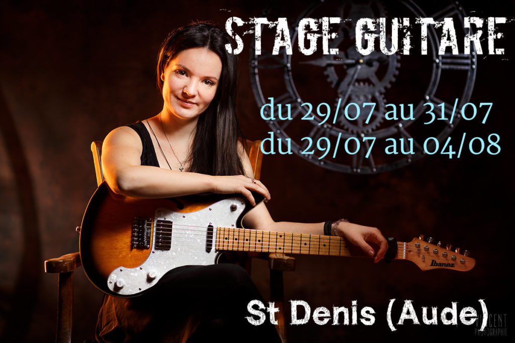 stage guitare anouck andré