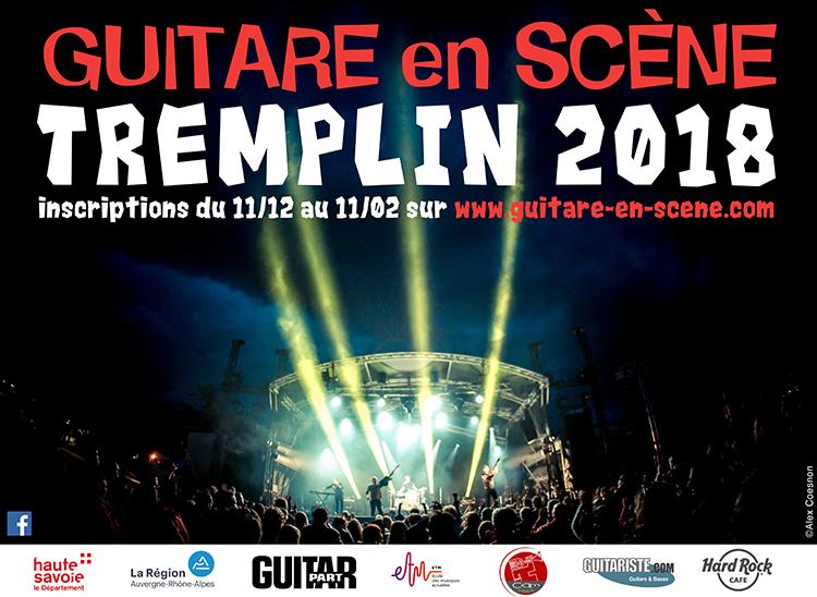 Tremplins Guitare en Scène 2018