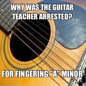 blague prof de guitare prison