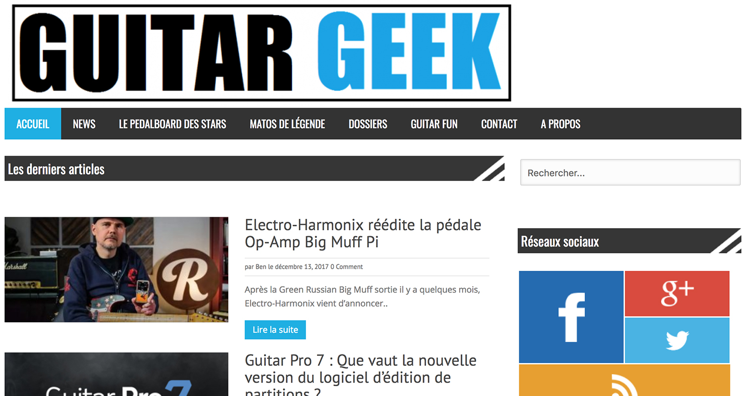 blog guitare geek
