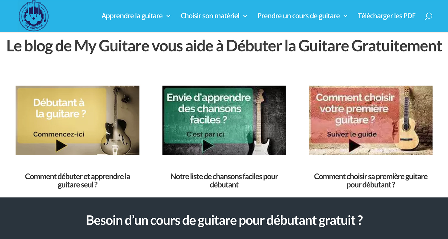 blog my guitare