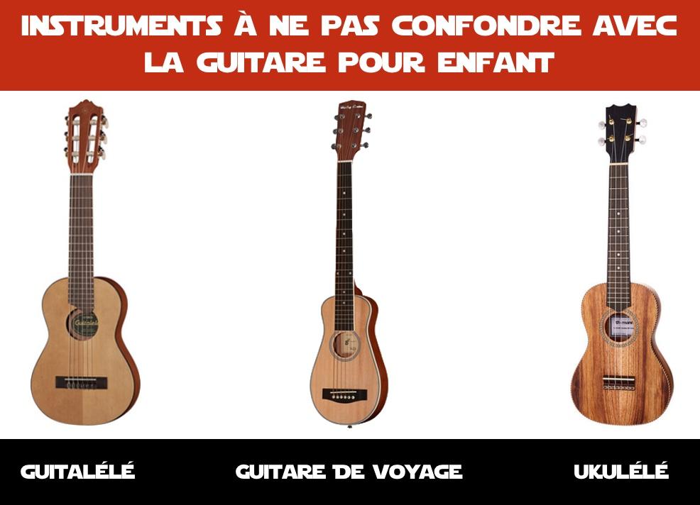 instruments inadaptés aux enfants