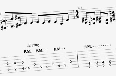 site de tablature et partition de guitare