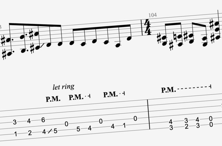 site de tablature et partition de guitare