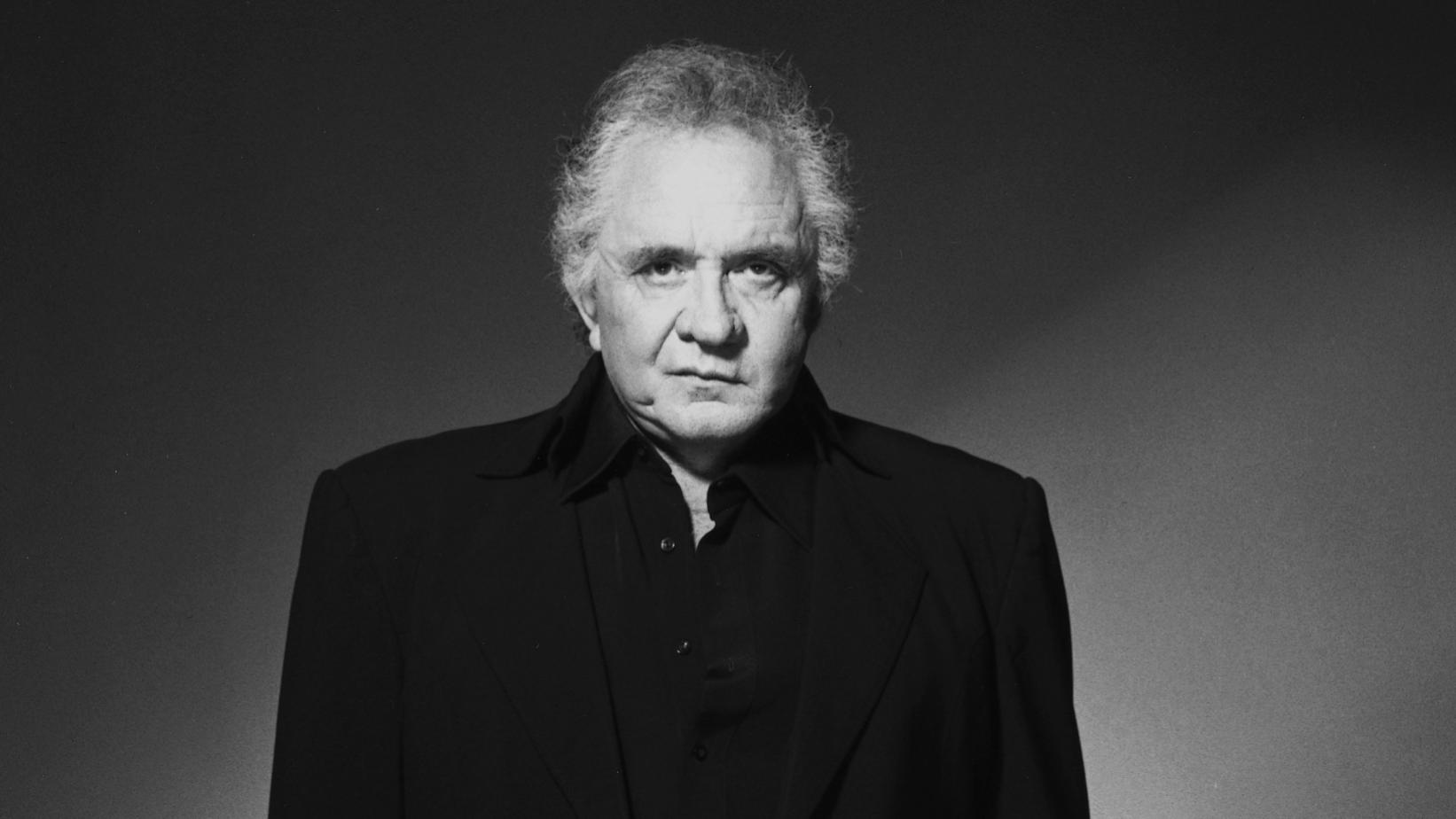 portrait johnny cash
