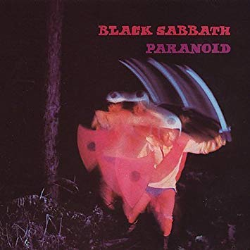 black sabbath paranoid album