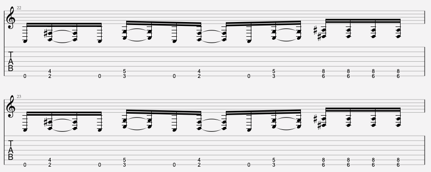 tablature guitare facile korn
