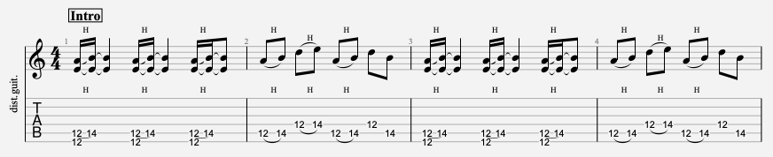 tablature guitare black sabbath