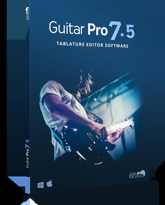 boite du logiciel guitar pro 7