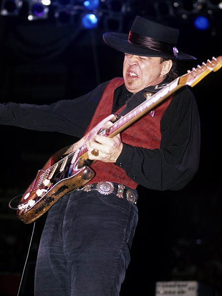 stevie ray vaughan guitar face 1