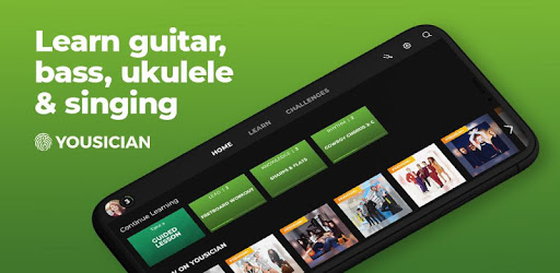 application guitare yousician