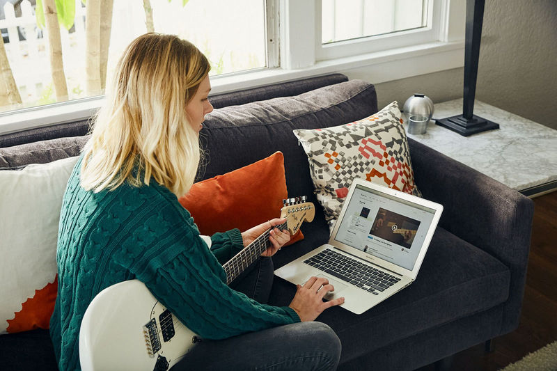 cours de guitare en vidéo anglais