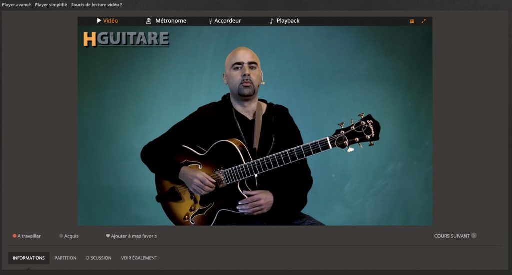 cours de guitare hguitare