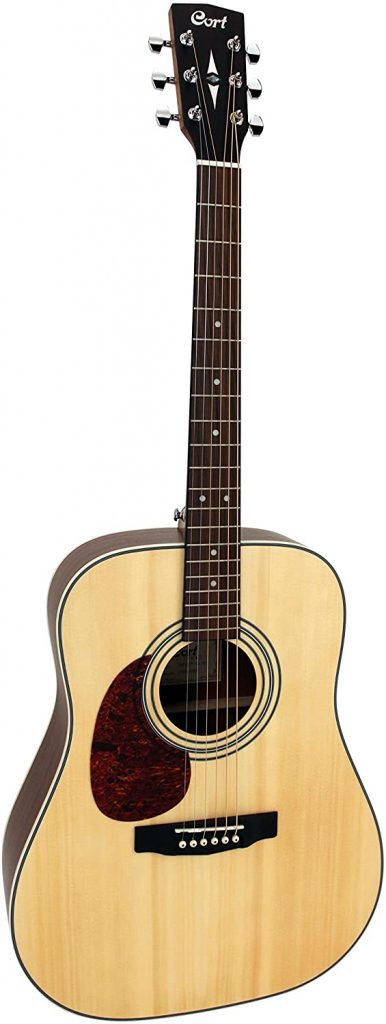 cort e70 guitare folk gaucher