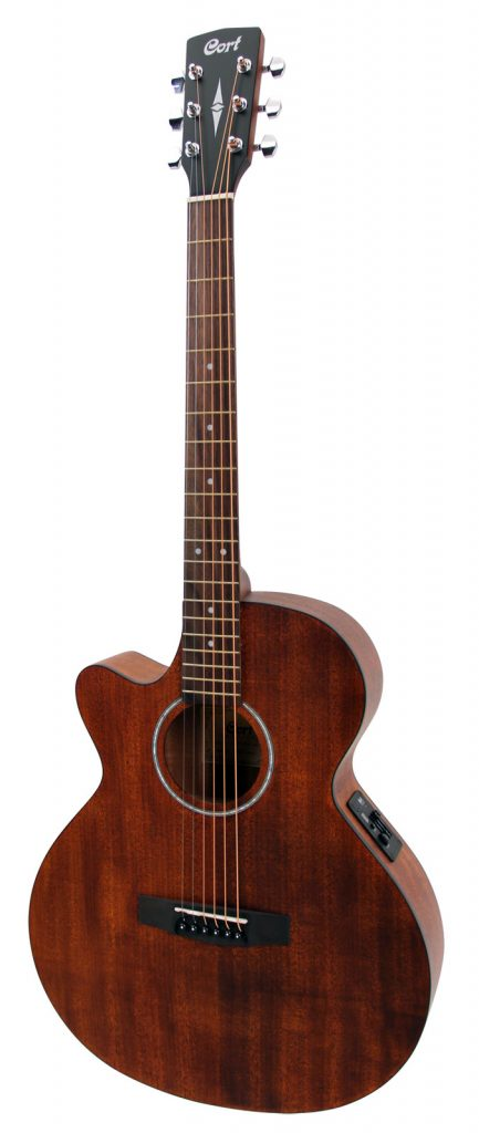cort sfx-mem natural open pores guitare folk gaucher