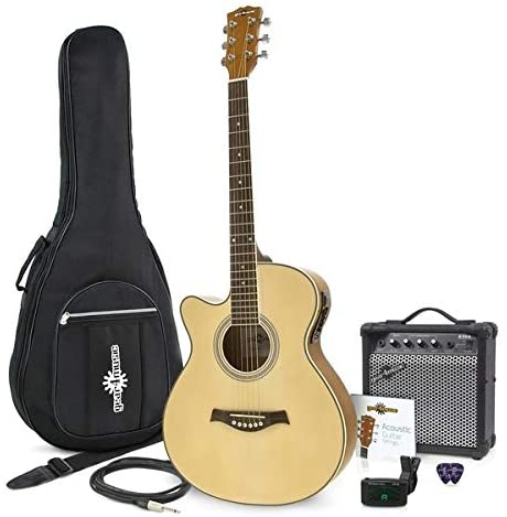 pack guitare folk gaucher gear4music