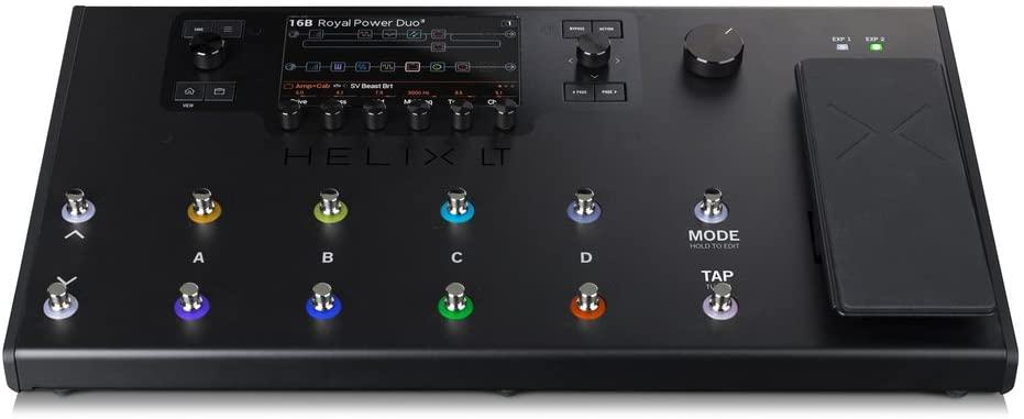 multi effets guitare line 6 helix lt